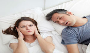 why do we only snore when sleeping?