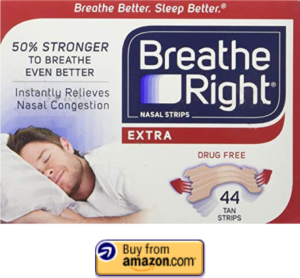 Breathe Right Extra Nasal Strips
